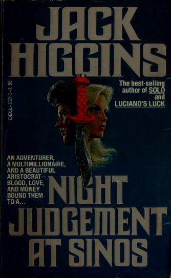 Cover of: Night Judgement at Sinos   Jack Higgins