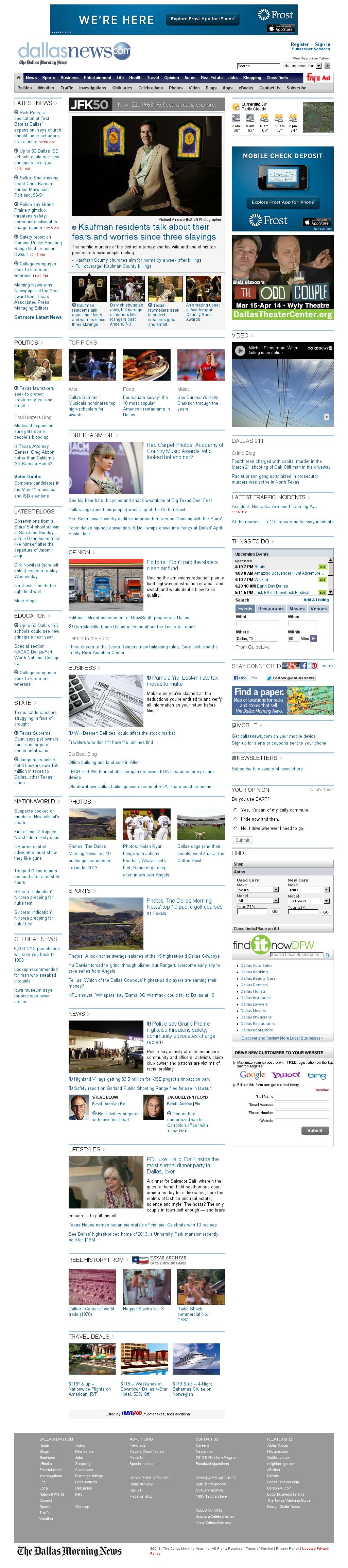 dallasnews.com at Monday April 8, 2013, 6:05 a.m. UTC