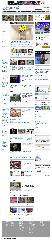 dallasnews.com at Wednesday April 10, 2013, 12:04 p.m. UTC