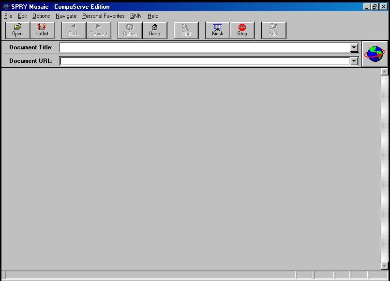 SPRY Mosaic (Compuserve Edition) v1.00.c6.07