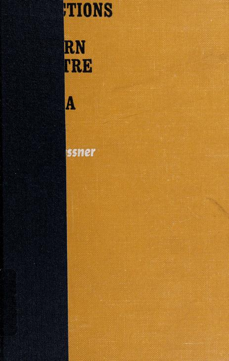 Directions in modern theatre and drama by Gassner, John