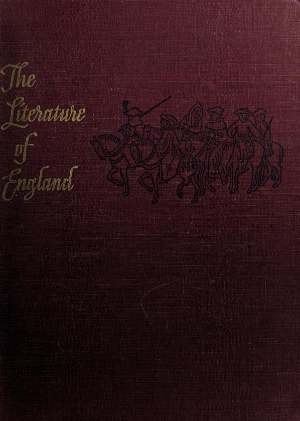 The literature of England by George Benjamin Woods