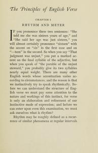 Cover of: The principles of English verse, with a prefatory note by Chauncey Brewster Tinker   Charlton Miner Lewis